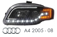 Audi A4 2005 - 2008 Headlight