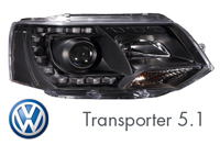 VW Transporter 5.1 2011 - 2015 Headlight